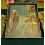Handover of thirteen icons recovered from smugglers to the Russian Museum