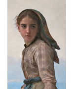 Адольф Вильям Бугро (William Bouguereau, 1825-1905), «Рыбачка»
