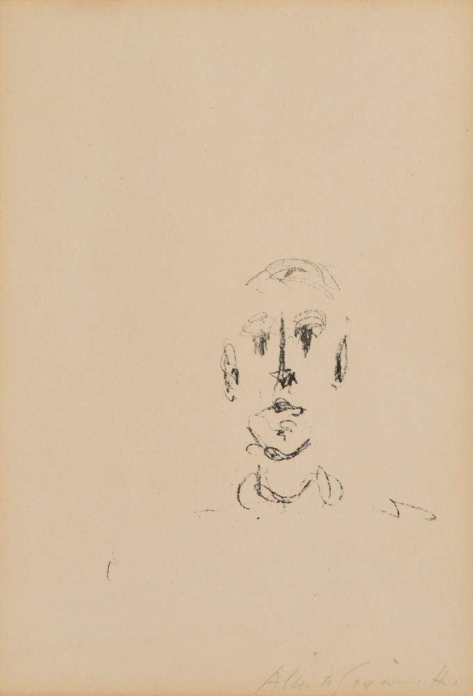 Head of a man I. Alberto Giacometti
