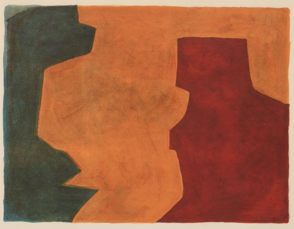 Composition. Serge Poliakoff
