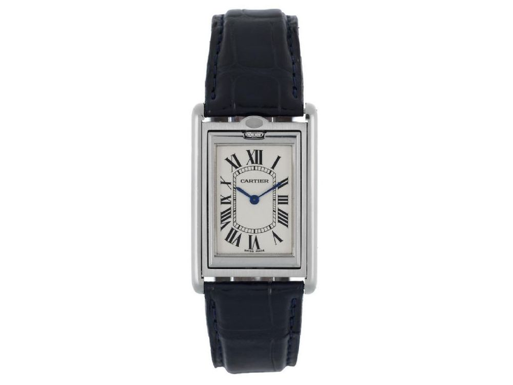 Cartier, Tank basculante, 24 mm.