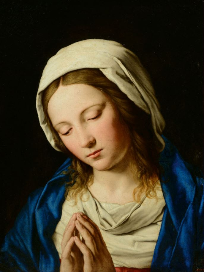 Giovanni Battista Salvi. The Virgin Mary in Prayer