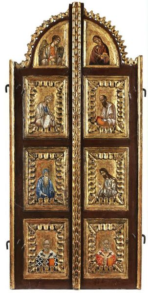 Two-leaf door iconostasis (contemporary).