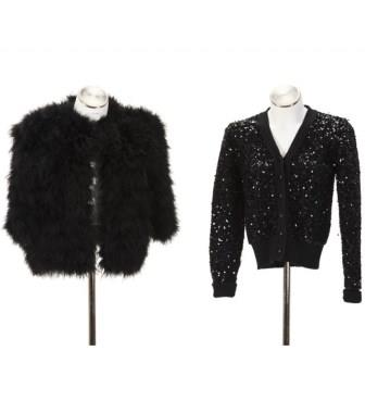 Two evening jackets, Yves Saint Laurent, Rive Gauche
