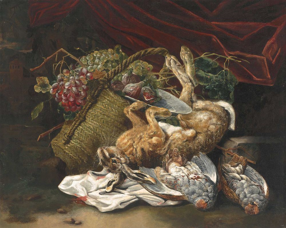 Jan Fyt. Still life with game
