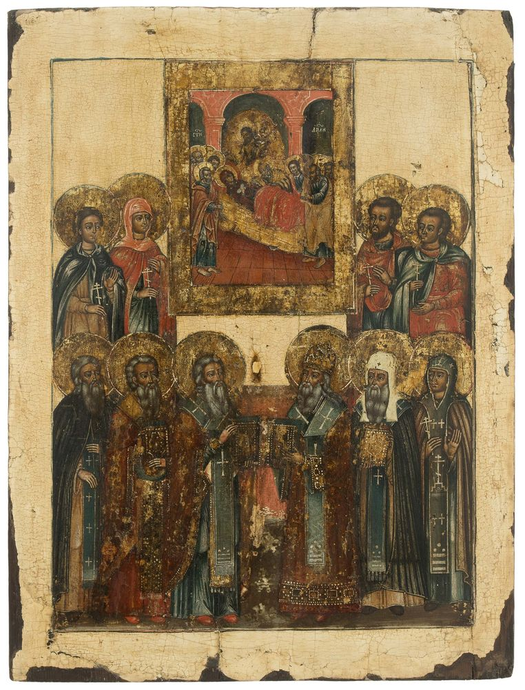 Saints and Hierarchs. Russia, ca. 1800.