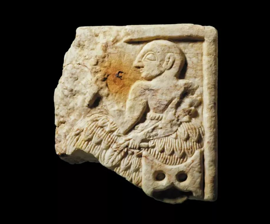 Part of a Sumerian wall plaque