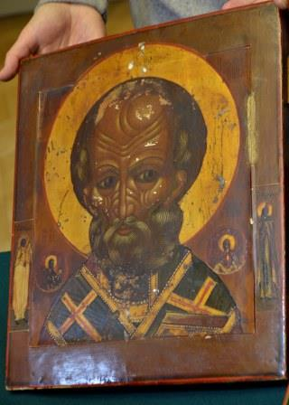 Old Believer icon of St. Nicholas