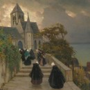 Bretagne on a Zarubin canvas, decorative and applied arts of the XIX century, and icons at the spring auctions 2021 at Schuler Auktionen