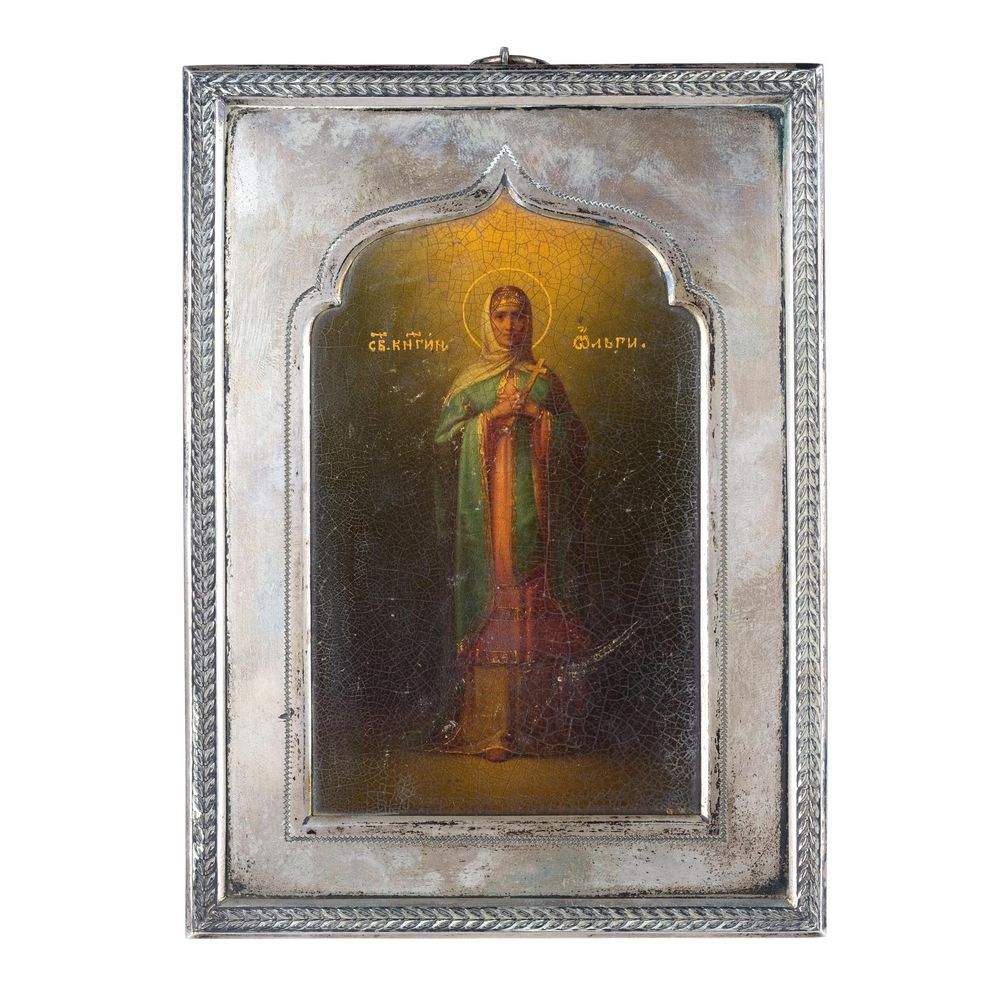 Icon of Saint Olga the Princess. Workmaster Vladimirov.